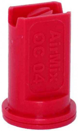 Airmix Red Polyacetal-EPDM Low Pressure Spray Nozzle
