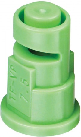 Turbo FloodJet Light Green Acetal Polymer Wide Angle Flat Spray Tip Nozzle