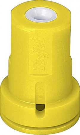 AITX ConeJet Yellow Acetal-Ceramic Air Induction Hollow Cone Spray Tip Nozzle