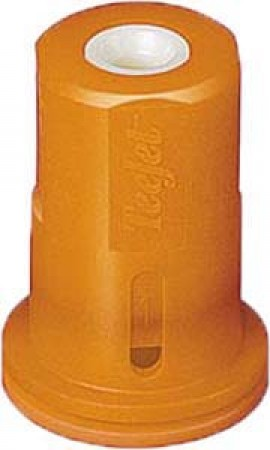 AITX ConeJet Orange Acetal-Ceramic Air Induction Hollow Cone Spray Tip Nozzle