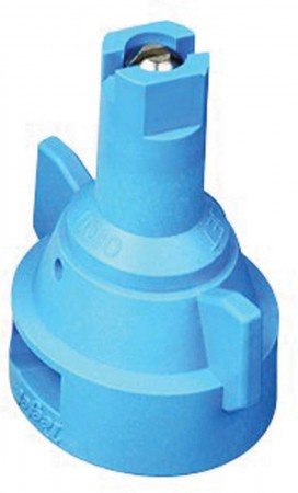 AIC TeeJet Light Blue Acetal-Stainless Steel Air Induction Flat Spray Tip Nozzle