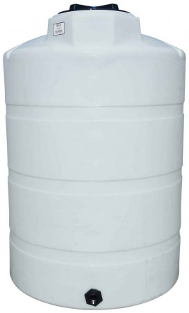 500 Gallon Plastic Vertical Storage Tank