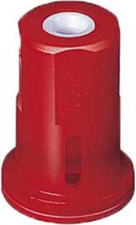 AITX ConeJet Red Acetal-Ceramic Air Induction Hollow Cone Spray Tip Nozzle