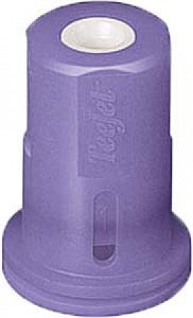 AITX ConeJet Lilac Acetal-Ceramic Air Induction Hollow Cone Spray Tip Nozzle