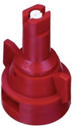 AIC TeeJet Red Acetal-Ceramic Air Induction Flat Spray Tip Nozzle