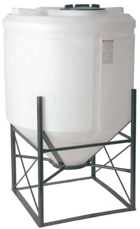 160 Gallon Cone Bottom Tank w/ Stand