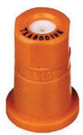 ConeJet Orange Acetal-Ceramic Ceramic VisiFlo Spray Tip Nozzle