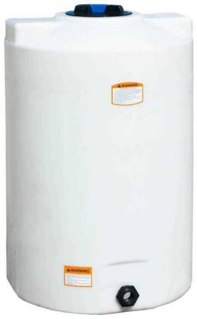 75 Gallon Plastic Vertical Storage Tank