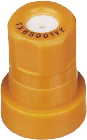 ConeJet Orange Acetal-Ceramic Ceramic VisiFlo Spray Tip Nozzle