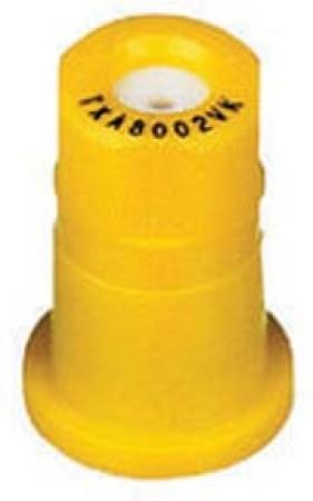 ConeJet Yellow Acetal-Ceramic Ceramic VisiFlo Spray Tip Nozzle