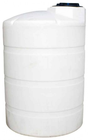 1000 Gallon Plastic Vertical Storage Tank