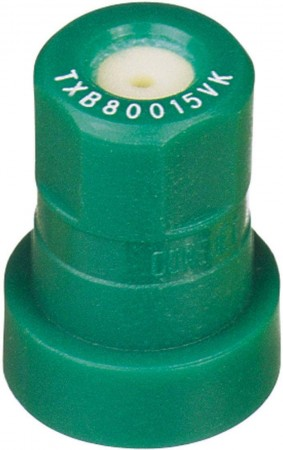 ConeJet Racing Green Acetal-Ceramic Ceramic VisiFlo Spray Tip Nozzle