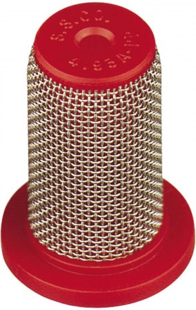 Poly Tip Strainer with SS Mesh & Check Valve