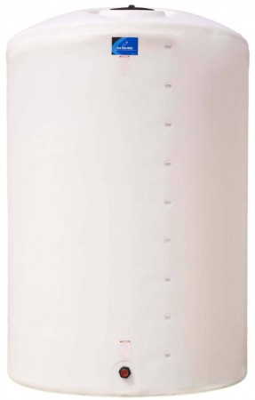 6250 Gallon Plastic Vertical Storage Tank