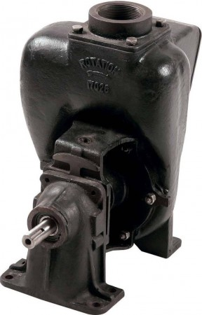 "Pedestal Cast Iron Transfer Pump with 2"" NPT Inlet x 2"" NPT Outlet"