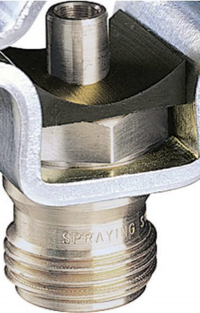 "11/16"" TeeJet Thread Split Eyelet Nozzle Body"