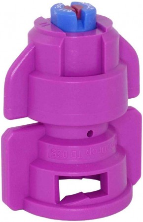 TurboDrop Pink Ceramic-Polyacetal-EPDM High Pressure Full Ceramic TwinFan Spray Nozzle