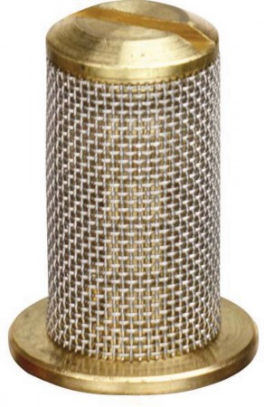 Brass Tip Strainer with SS Mesh & Check Valve