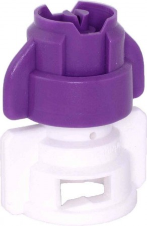 TurboDrop XL Purple/White Ceramic-Polyacetal-EPDM Medium Pressure Spray Nozzle