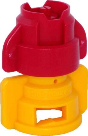 TurboDrop D XL Brown/Yellow Polyacetal-Ceramic-EPDM Medium Pressure Spray Nozzle