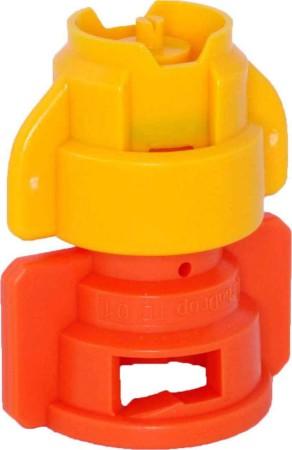 TurboDrop XL Yellow/Orange Ceramic-Polyacetal-EPDM Medium Pressure Spray Nozzle