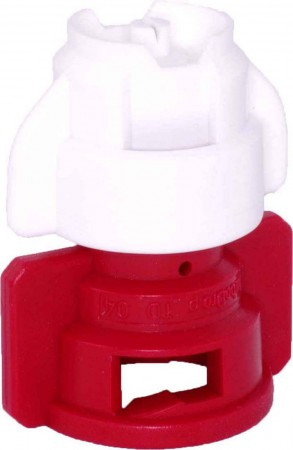 TurboDrop XL White/Red Ceramic-Polyacetal-EPDM Medium Pressure Spray Nozzle