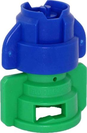 TurboDrop XL Blue/Green Polyacetal-EPDM Medium Pressure Spray Nozzle