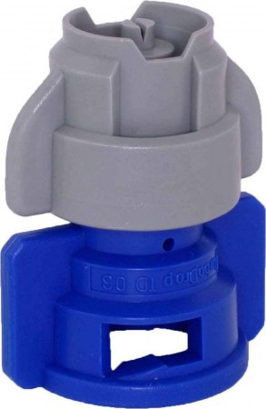 TurboDrop XL Gray/Blue Polyacetal-EPDM Medium Pressure Spray Nozzle