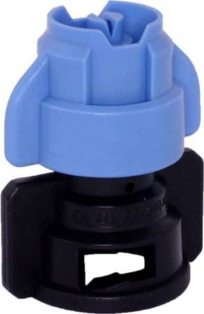 TurboDrop XL Sky Blue/Black Ceramic-Polyacetal-EPDM Medium Pressure Spray Nozzle