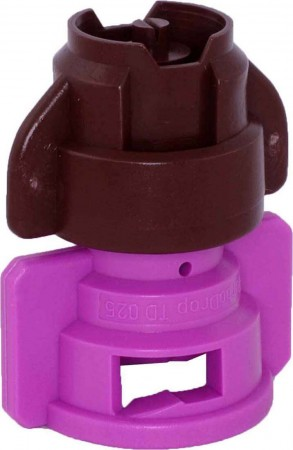 TurboDrop XL Brown/Pink Polyacetal-EPDM Medium Pressure Spray Nozzle