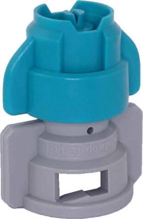 TurboDrop XL Turqouise/Gray Polyacetal-EPDM Medium Pressure Spray Nozzle