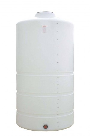 1500 Gallon Plastic Vertical Storage Tank