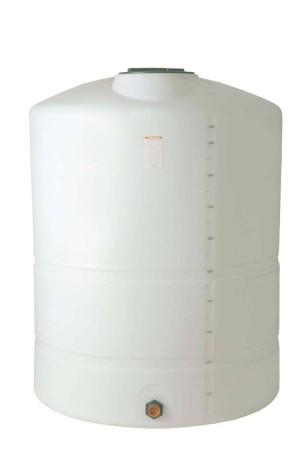 1200 Gallon Plastic Vertical Storage Tank