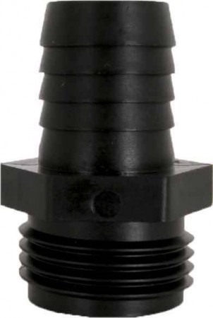 "Hose Barb Adpater Fitting - 3/4"" MGHT x 5/8"" Hose Barb"