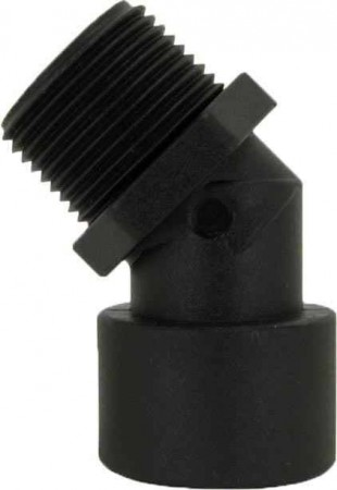 """Pipe 40° Street Elbow Fitting - 3/4"""" MPT x 3/4"""" FPT"""
