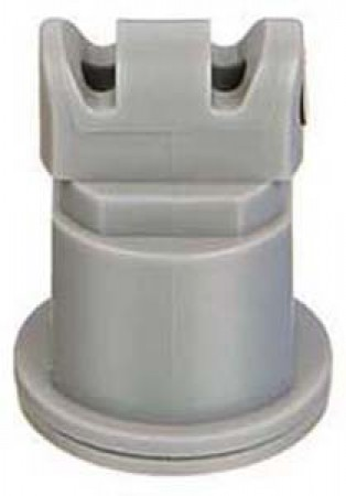 Air Induction Turbo TwinJet Grey Acetal Polymer with cap/gasket Twin Flat Spray Tip Nozzle
