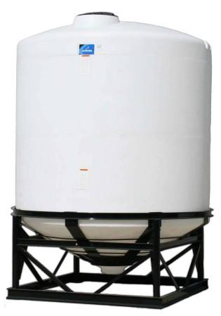 2600 Gallon Cone Bottom Tank w/ Stand