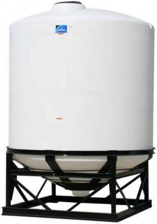 2495 Gallon Cone Bottom Tank w/ Stand