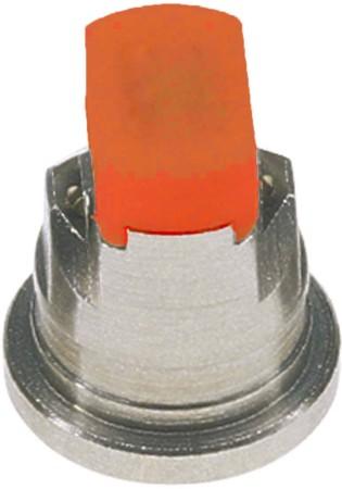 TwinJet Orange Acetal-Stainless Steel Twin Flat Spray Tip Nozzle