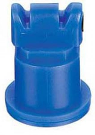 Air Induction Turbo TwinJet Blue Acetal Polymer with cap/gasket Twin Flat Spray Tip Nozzle