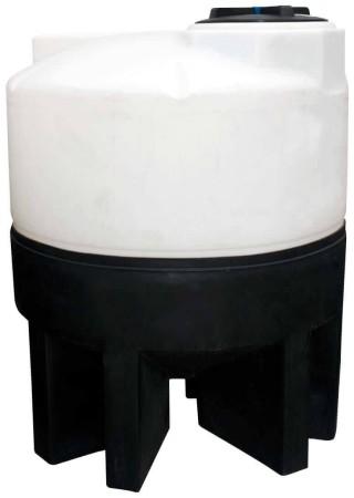 300 Gallon Cone Bottom Tank w/ Stand
