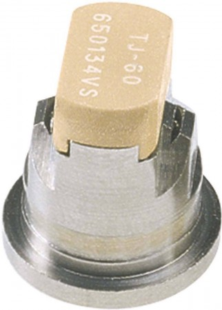 TwinJet Acetal-Stainless Steel Twin Flat Spray Tip Nozzle