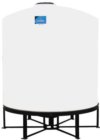 2500 Gallon Cone Bottom Tank w/ Stand