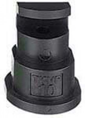 FloodJet Black Acetal Polymer Wide Angle Flat Spray Tip Nozzle