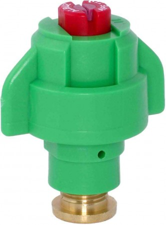 TurboDrop Green Polyacetal-Ceramic High Pressure Semi-Ceramic Poly Hollow Cone Spray Nozzle