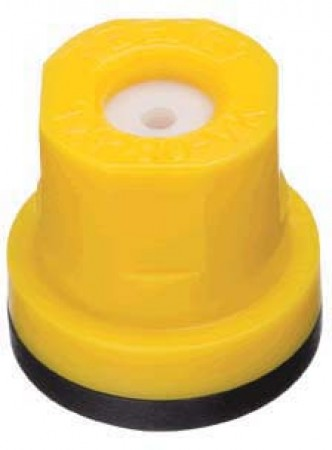 TXR ConeJet Yellow Acetal-Ceramic Hollow Cone Spray Tip Nozzle