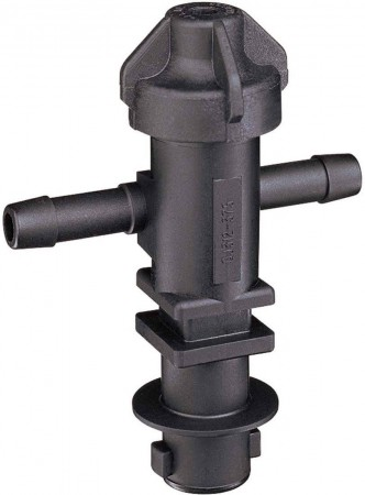 """1/2"""" Hose Barb 1 Outlet QJ300 Single Nozzle Body for Dry Applications"""