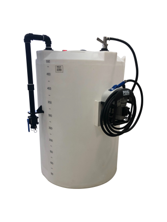 750 Gallon DEF (Diesel Exhaust Fluid) Mini Bulk Dispensing Tank