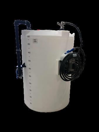 2100 Gallon DEF (Diesel Exhaust Fluid) Mini Bulk Dispensing Tank