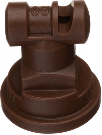 Turbo TeeJet Brown Acetal Polymer Wide Angle Flat Spray Tip Nozzle